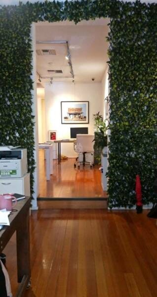 Shared office at Vibrant Ground Floor Office in Art Gallery Conversion, Melbourne