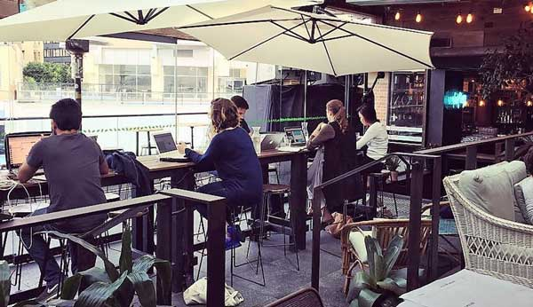 TwoSpace at Kings Cross Hotel Rooftop, Sydney