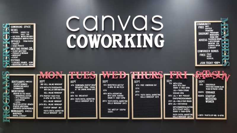 Canvas Coworking, Toowoomba