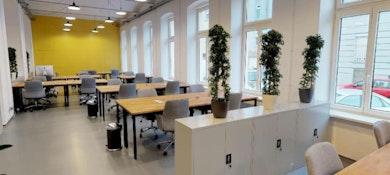 Die Buro Fabrik Vienna Book Online Coworker