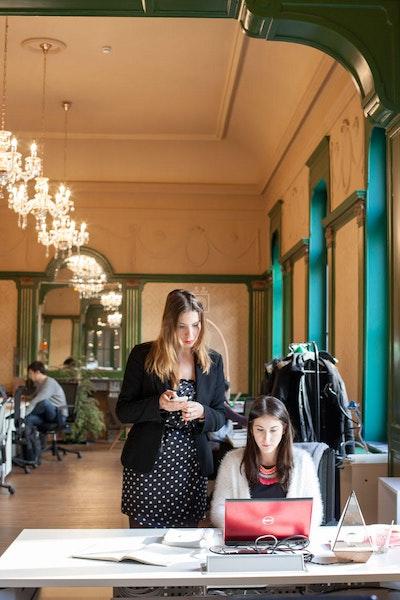 Coworking Les Galeries, Brussels