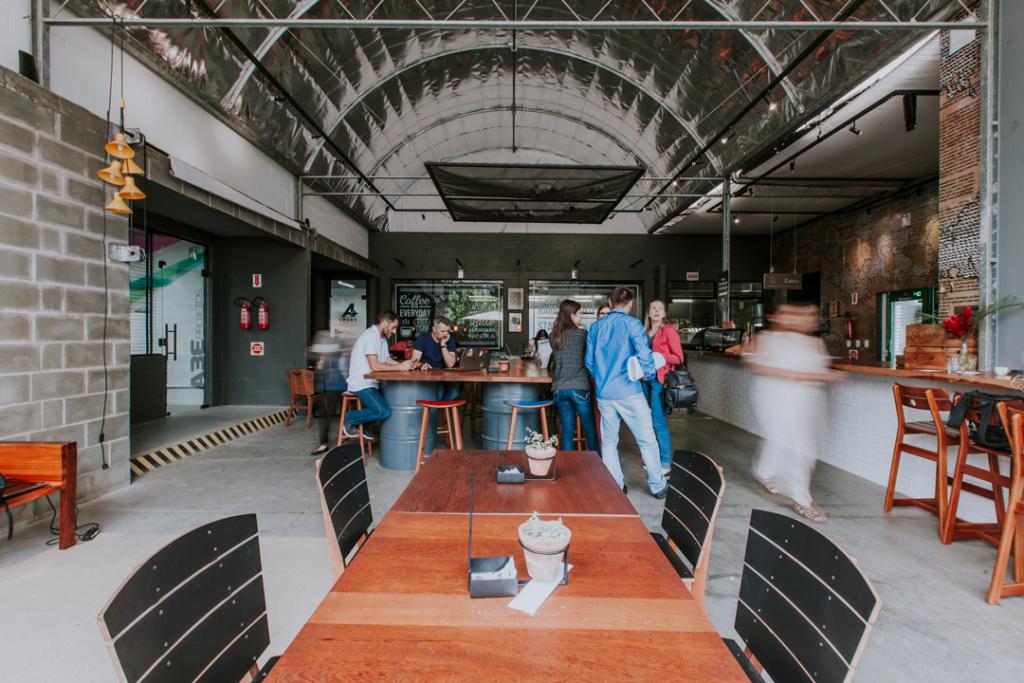Offcina Cafe Coworking, Bluemenau