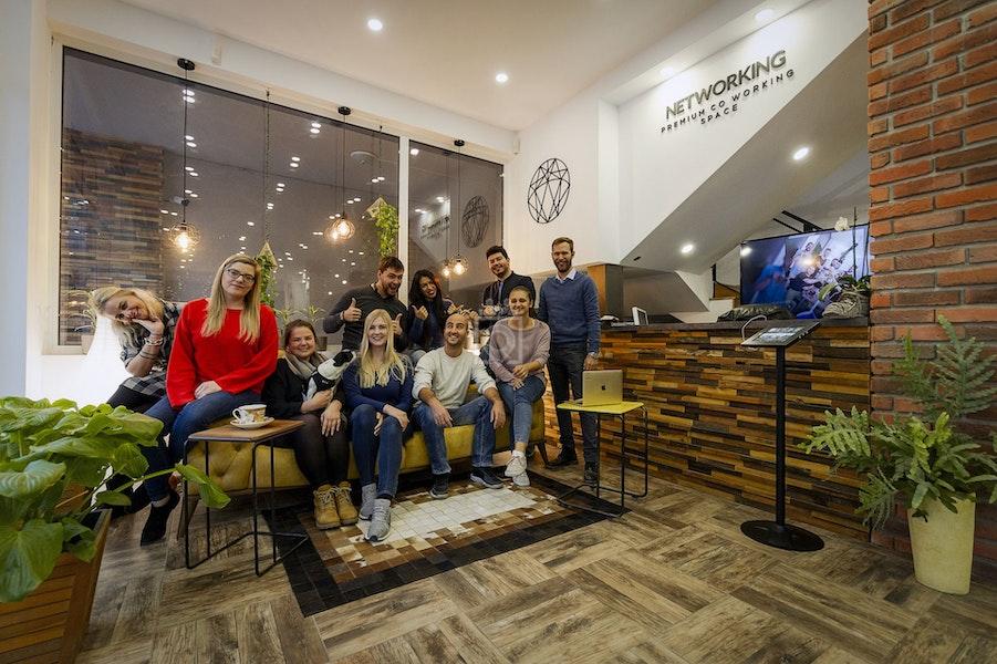 NETWORKING: Premium Coworking Spaces, Sofia
