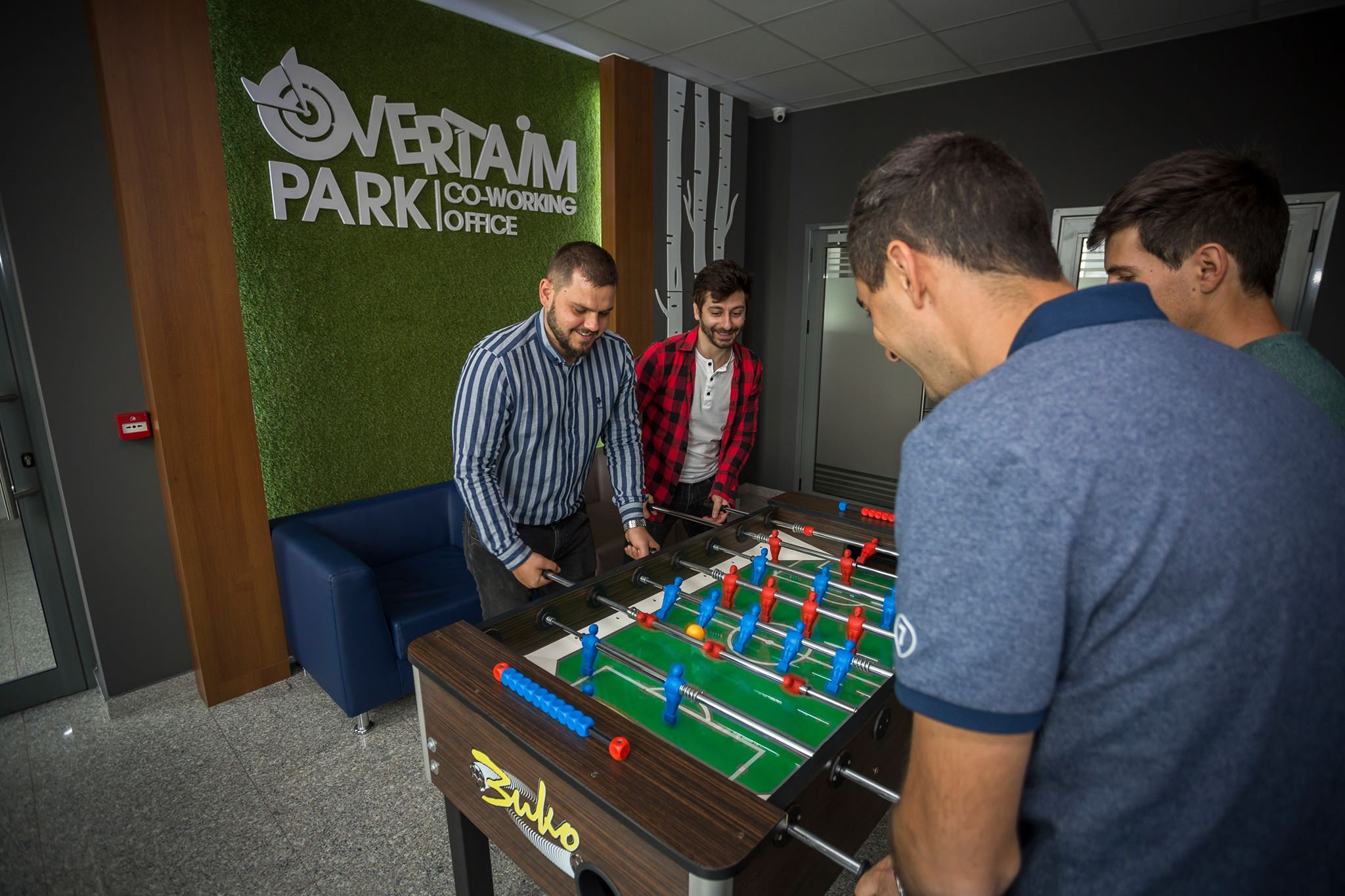 Overtaim Park Coworking Space, Sofia