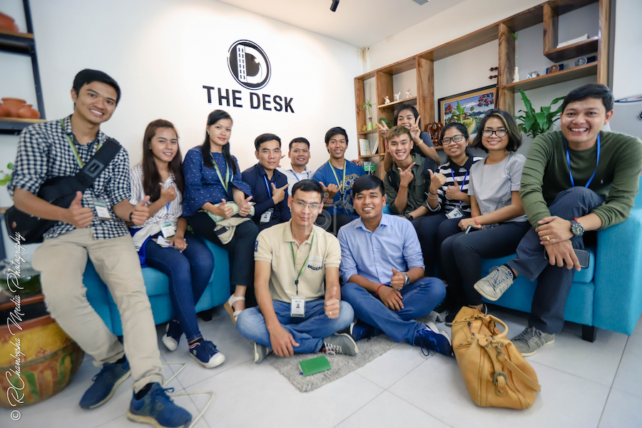 The Desk Coworking Space, Phnom Penh