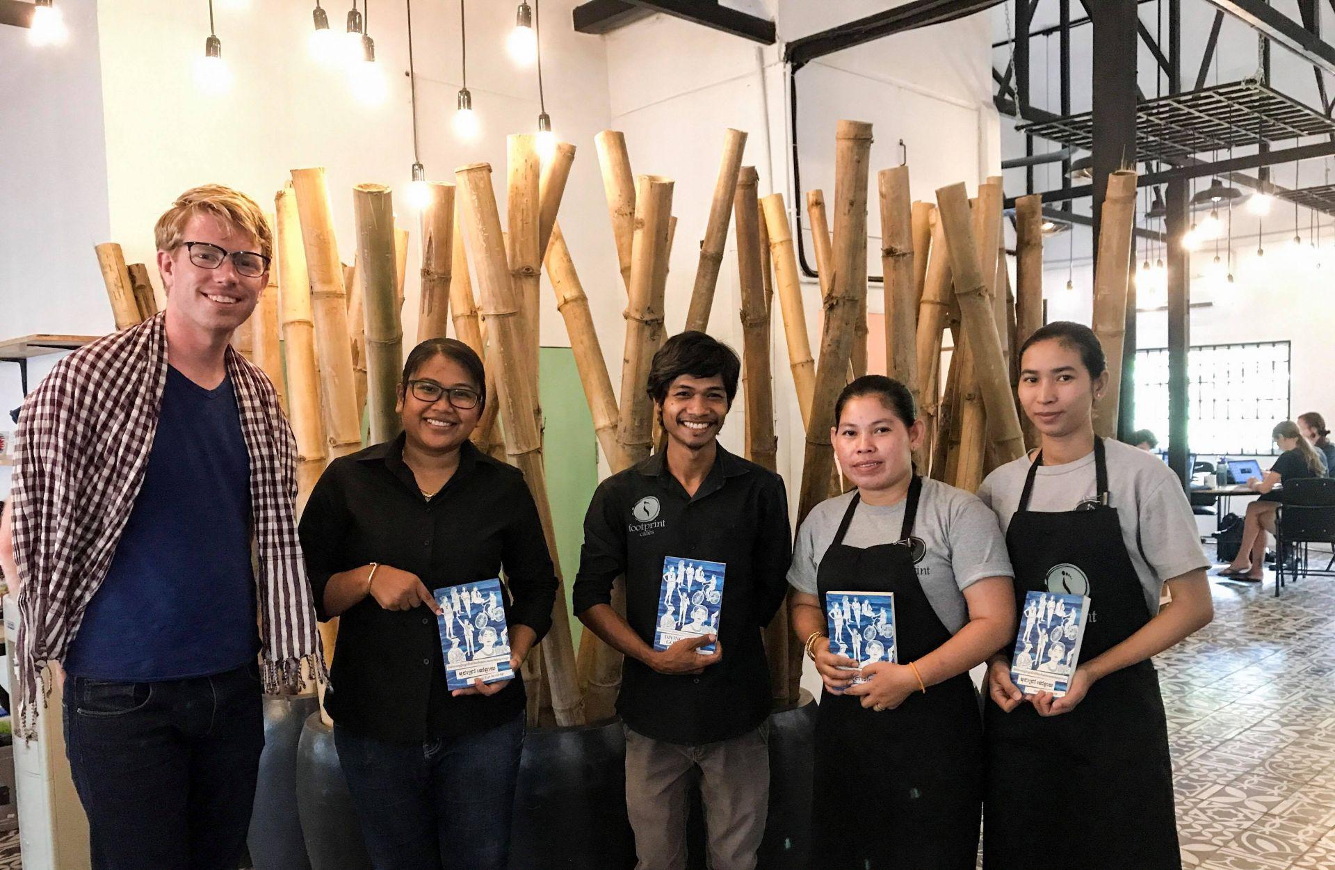 Footprint Cafes Hub, Siem Reap