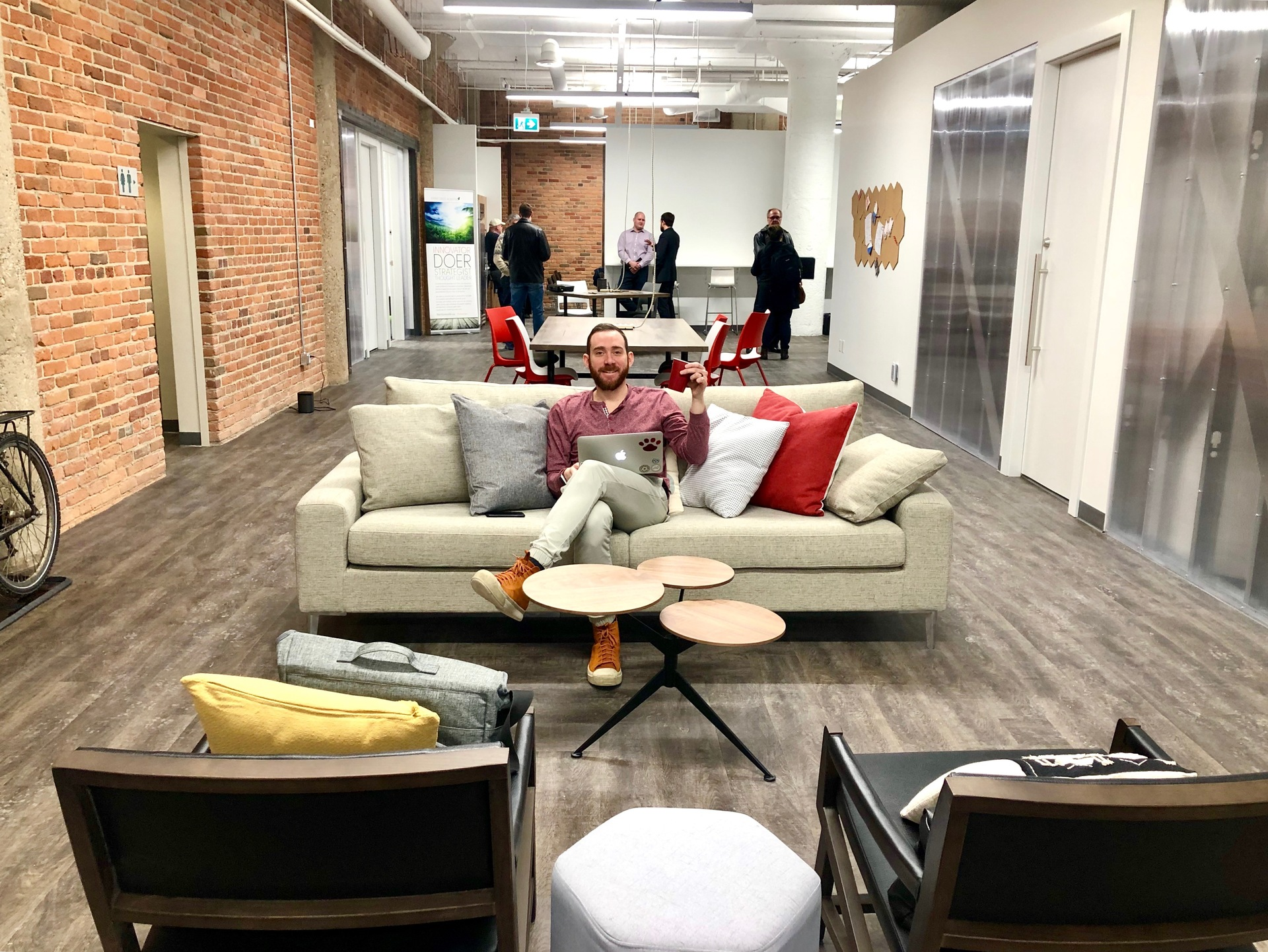 Pleasing Work Nicer Coworking Beaver House Edmonton Book Online Ocoug Best Dining Table And Chair Ideas Images Ocougorg