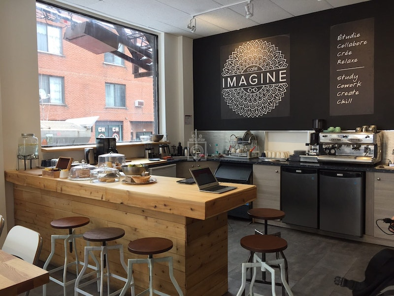 Café Imagine, Montreal