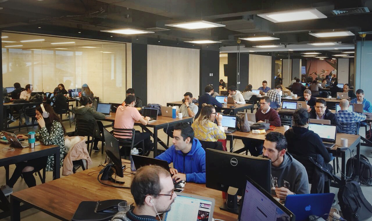 Co-Work LatAm Monjitas, Santiago