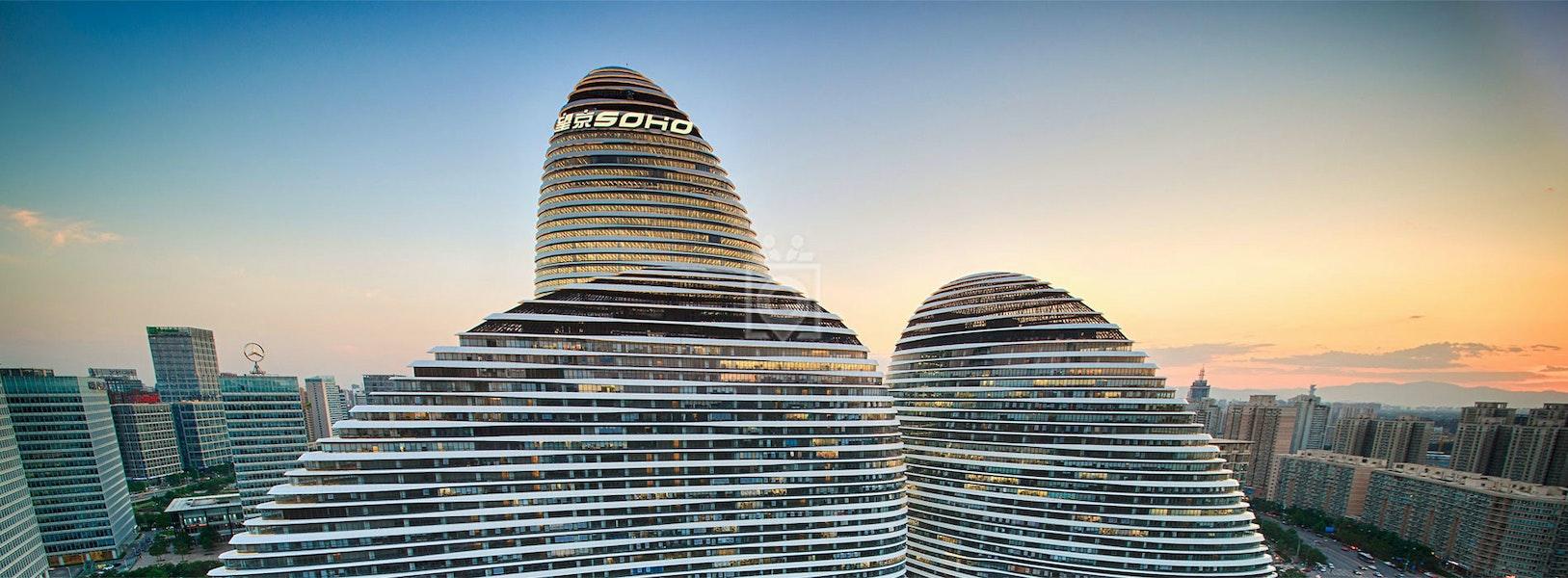 SOHO 3Q - Wangjing 3Q ll, Beijing