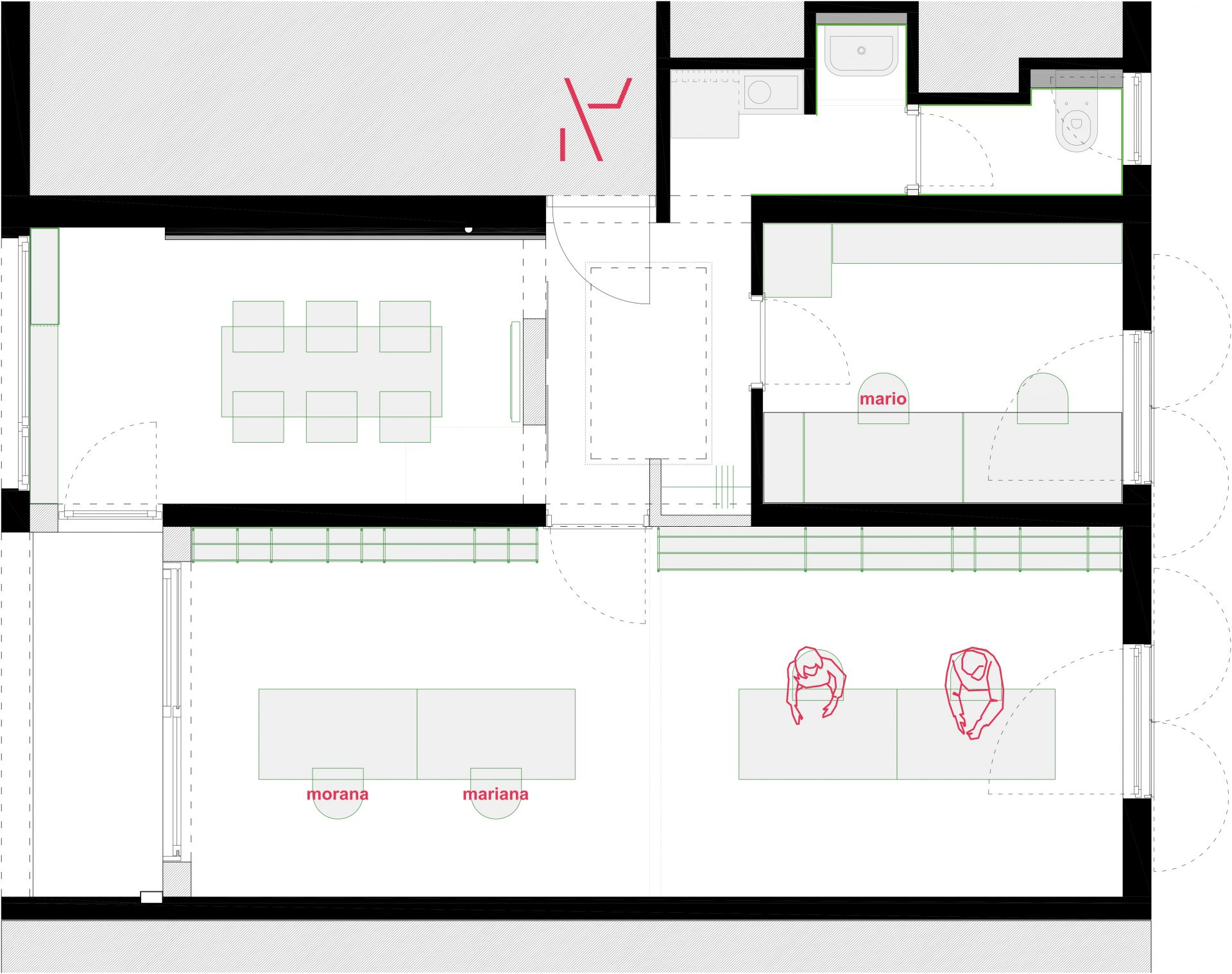 Arhitektonski Kolektiv (AK-47), Split