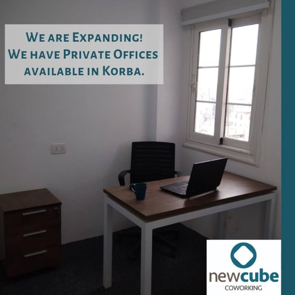 New Cube coworking, Cairo