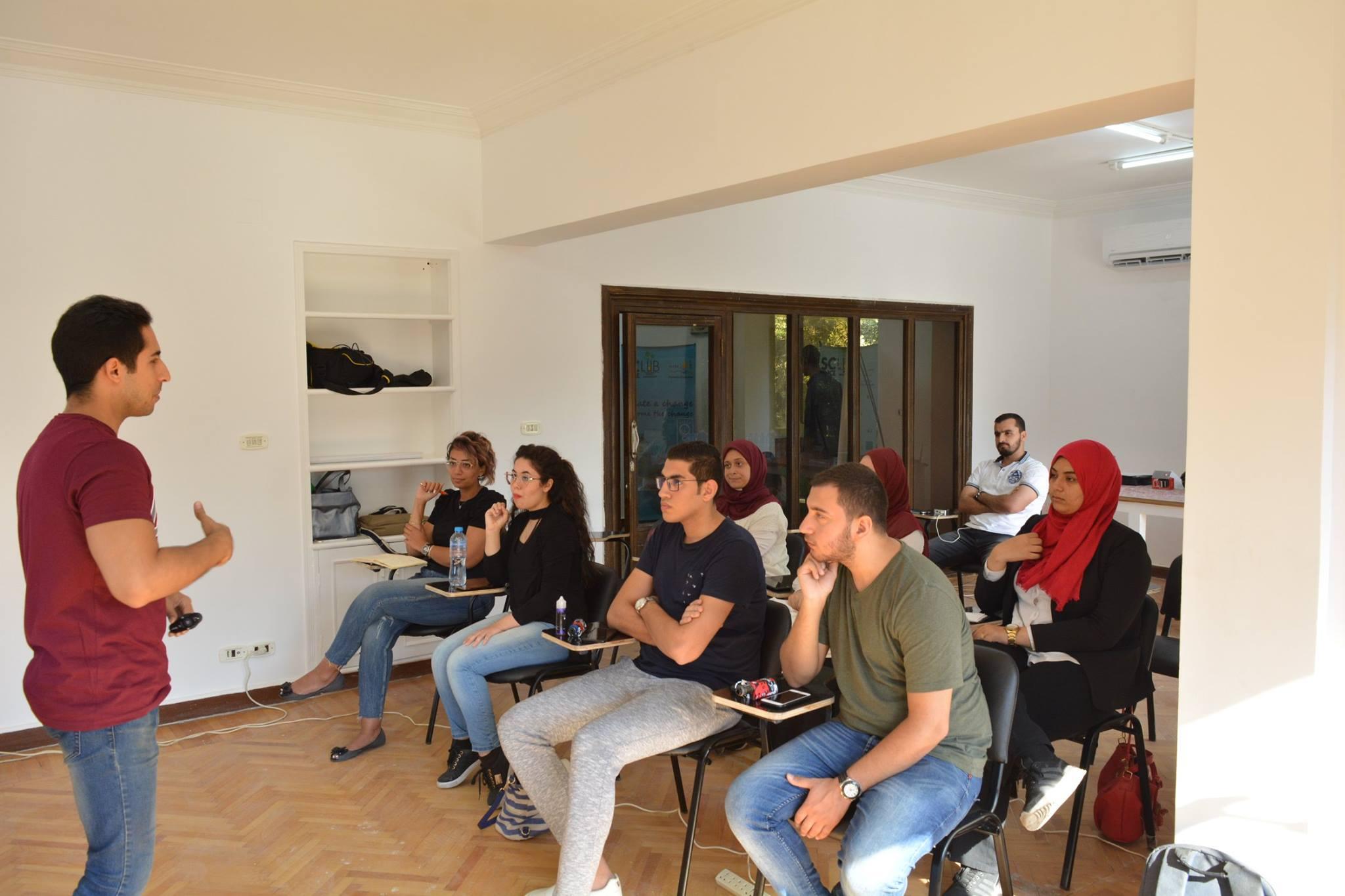 Zomrah Coworking Space, Cairo