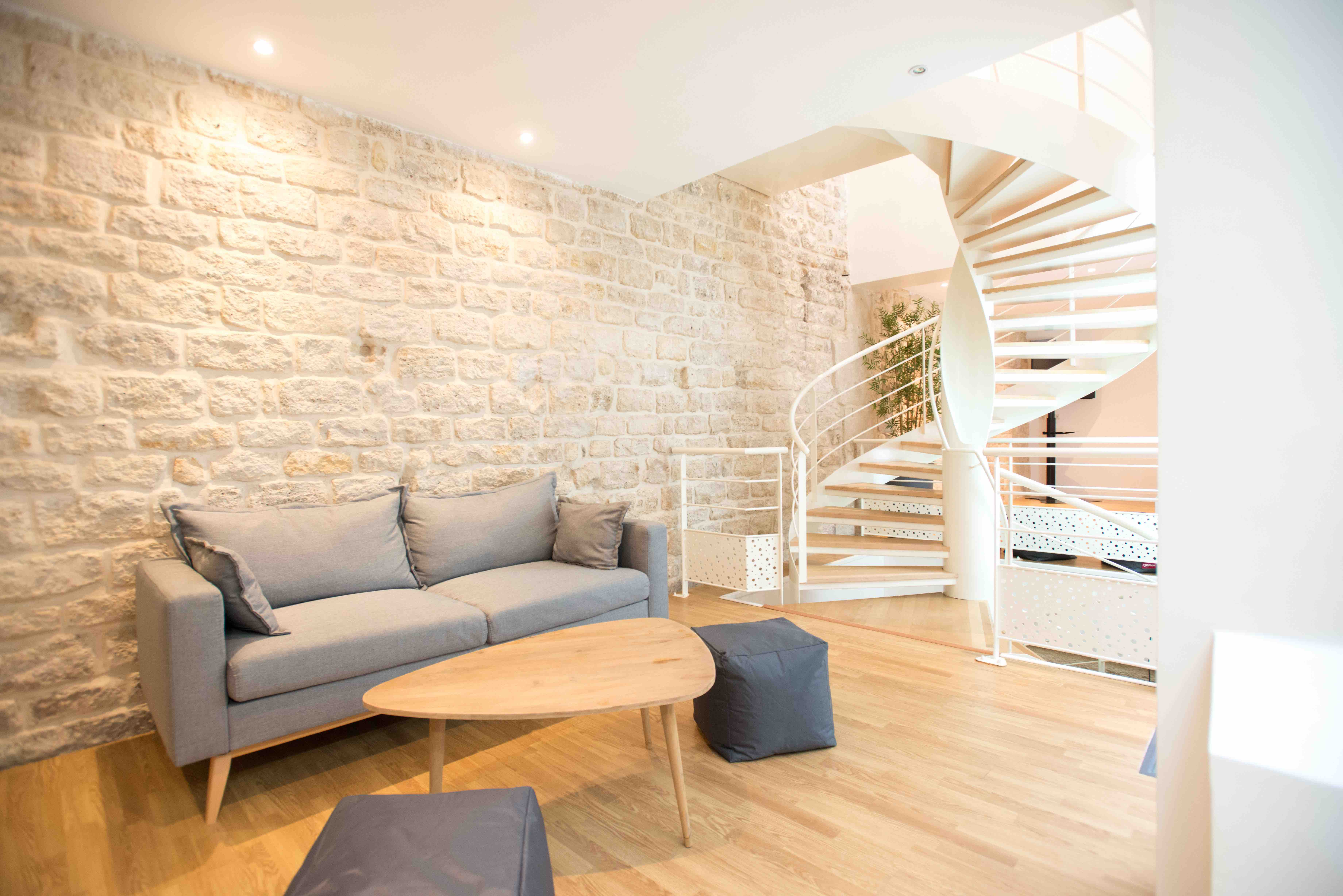 Calm and cozy coworking, showroom and event space, Paris