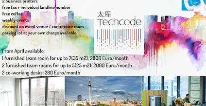 TechCode, Berlin | coworkspace.com