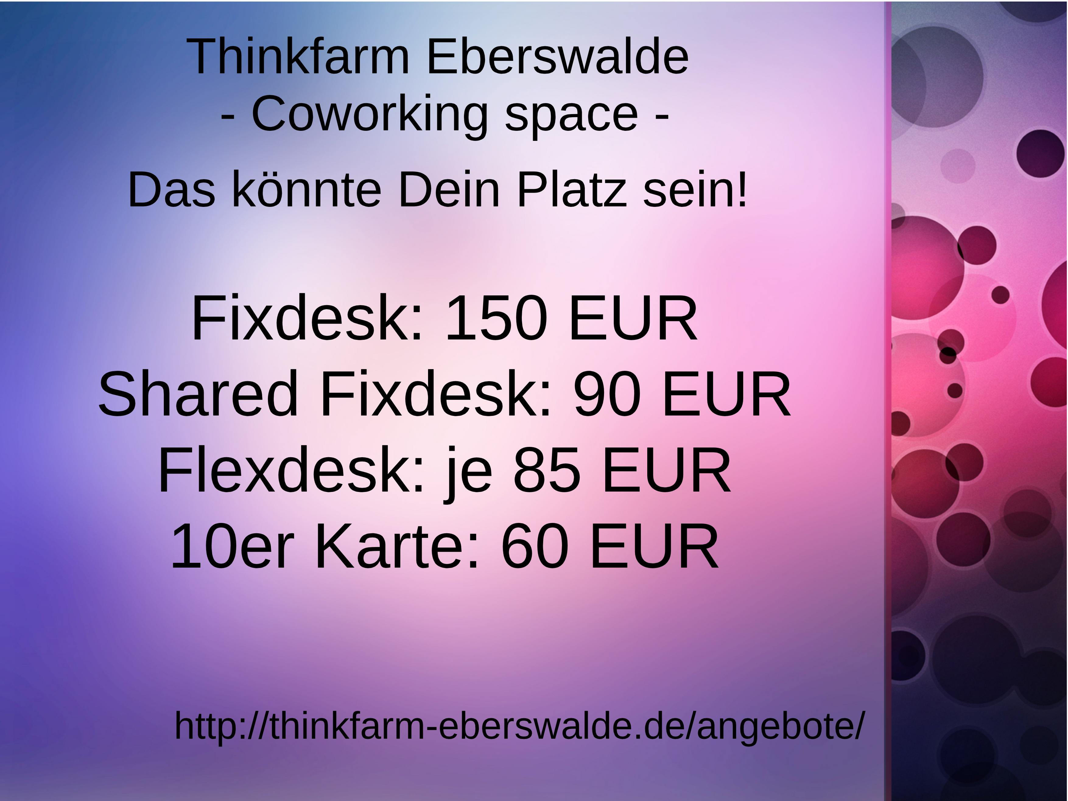 Thinkfarm Eberswalde Berlin Read Reviews Book Online