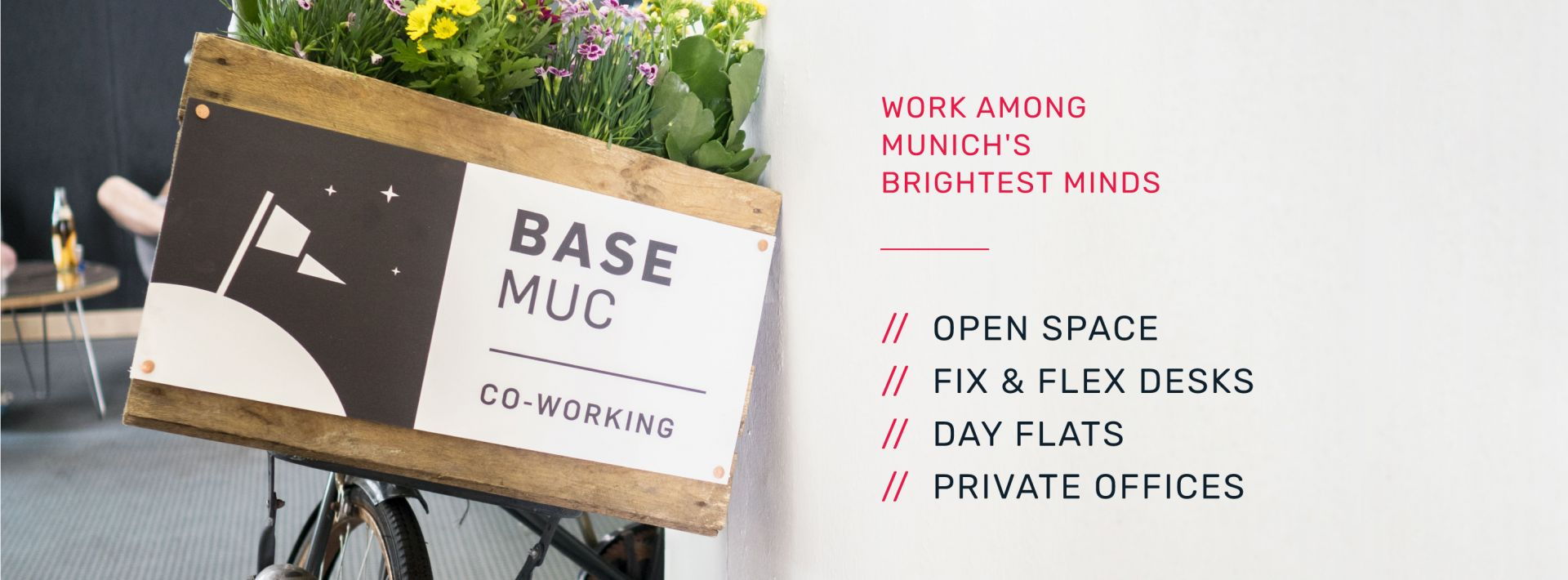 BASE Co-Working, Munich