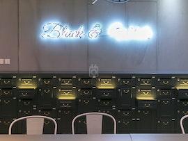 Metro Workspace - Tin Hau, Black & White, Hong Kong