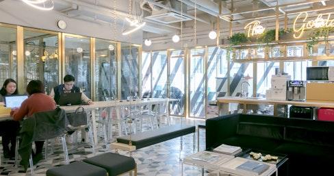 Metropolitan Workshop - Admiralty, The Golden Boy, Hong Kong | coworkspace.com