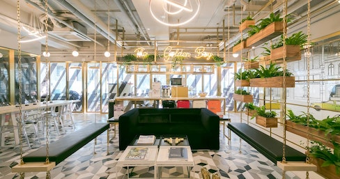 Metropolitan Workshop - Admiralty, The Golden Boy, Hong Kong | coworkspace.com