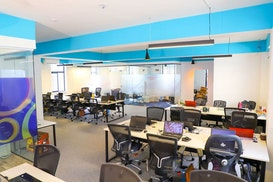 Fully Furnished office space with carpet flooring, Bengaluru