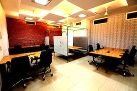 myHQ coworking at Cospaces New Garage Golf Course Road, Faridabad