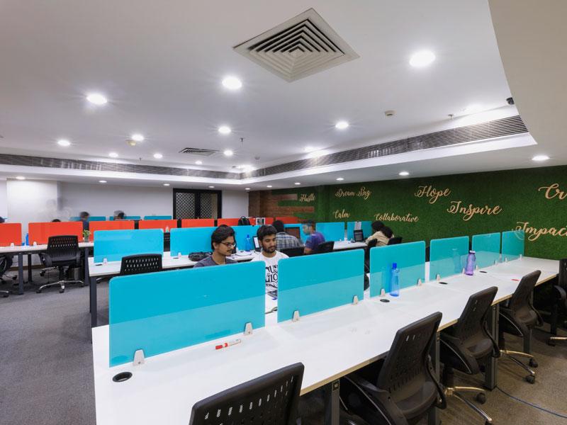 myHQ coworking at One Co.Work Sushant Lok, Gurugram