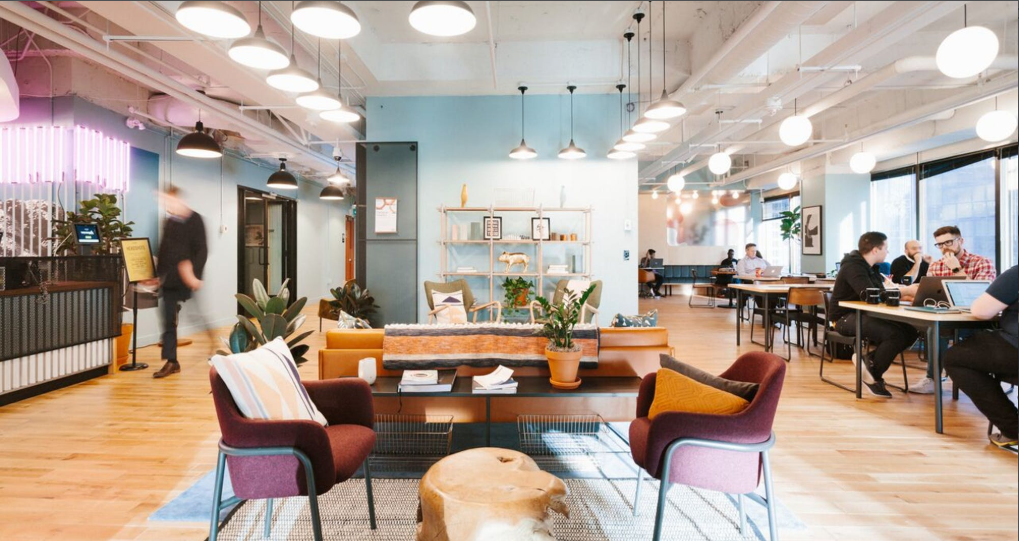 WeWork Blue One Square, Gurugram