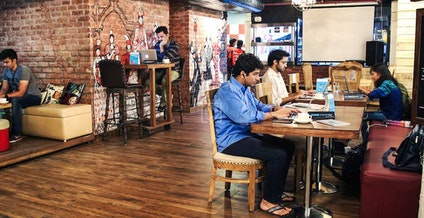 Barcelos myHQ Workzone, New Delhi | coworkspace.com