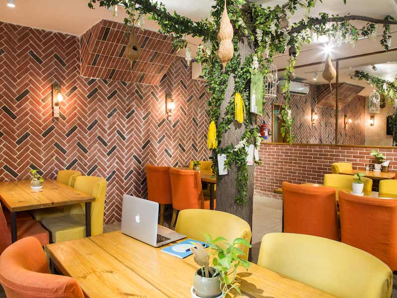 Cafe Untold - myHQ Workspace, New Delhi