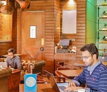 Coworking at The Darzi Bar Connaught Place - myHQ Workspaces profile image