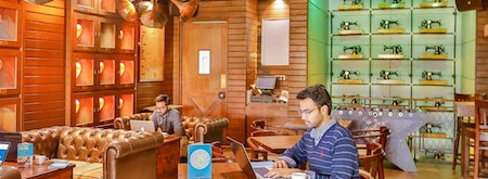 Coworking at The Darzi Bar Connaught Place - myHQ Workspaces