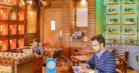 Coworking at The Darzi Bar Connaught Place - myHQ Workspaces, New Delhi | coworkspace.com