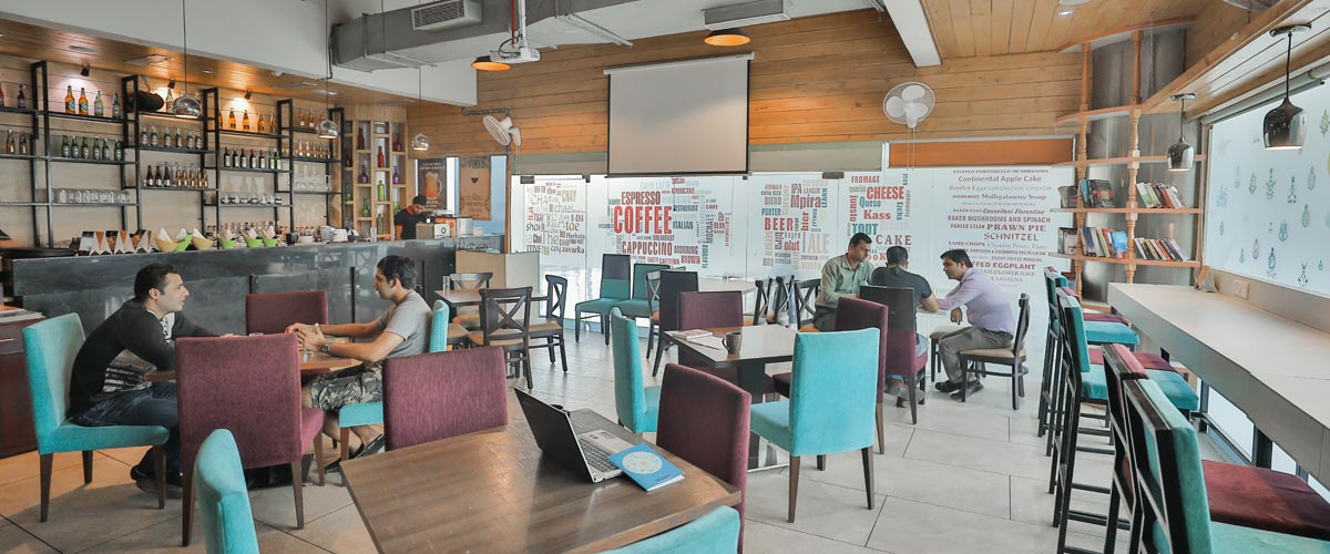 Drool Fresh Bakehouse - myHQ Coworking Cafe, New Delhi