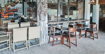 Locale - Coworking Cafe in Saket - myHQ Coworking, New Delhi | coworkspace.com