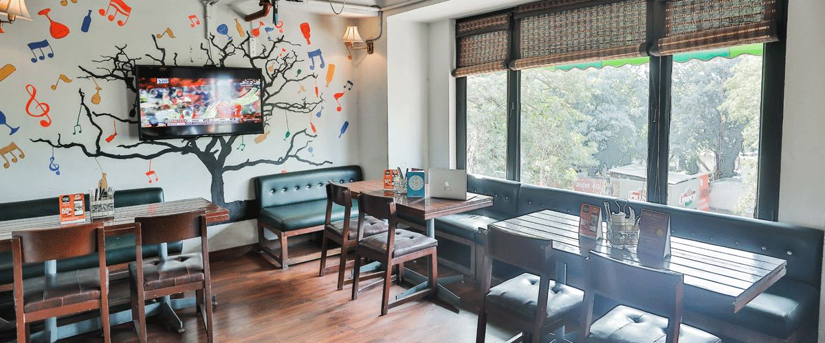 Locale - Coworking Cafe in Saket - myHQ Coworking, New Delhi