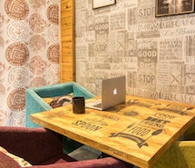 myHQ Coworking at Cafe More Life, Dwarka profile image