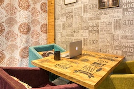 myHQ Coworking at Cafe More Life, Dwarka, Gurugram