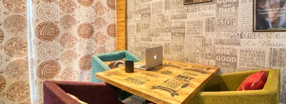 myHQ Coworking at Cafe More Life, Dwarka
