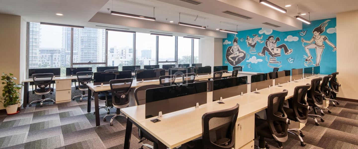 myHQ Coworking at Good Earth Bay, Golf Course Road Extension, New Delhi