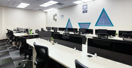 myHQ Coworking at Good Earth Bay, Golf Course Road Extension, New Delhi | coworkspace.com