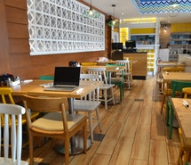 myHQ coworking at IHOP Tagore Garden profile image