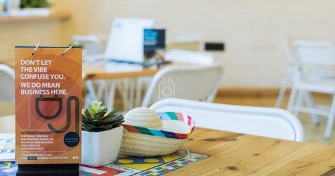 myHQ coworking at Rodeo Cantina and Kitchen, New Delhi | coworkspace.com