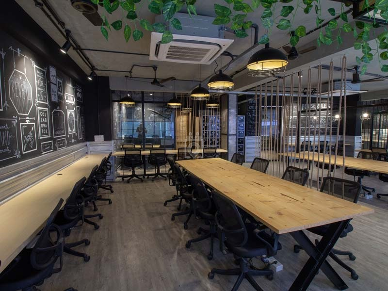 myHQ coworking at Spaced Out Shahpur Jat, New Delhi