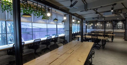 myHQ coworking at Spaced Out Shahpur Jat, New Delhi | coworkspace.com