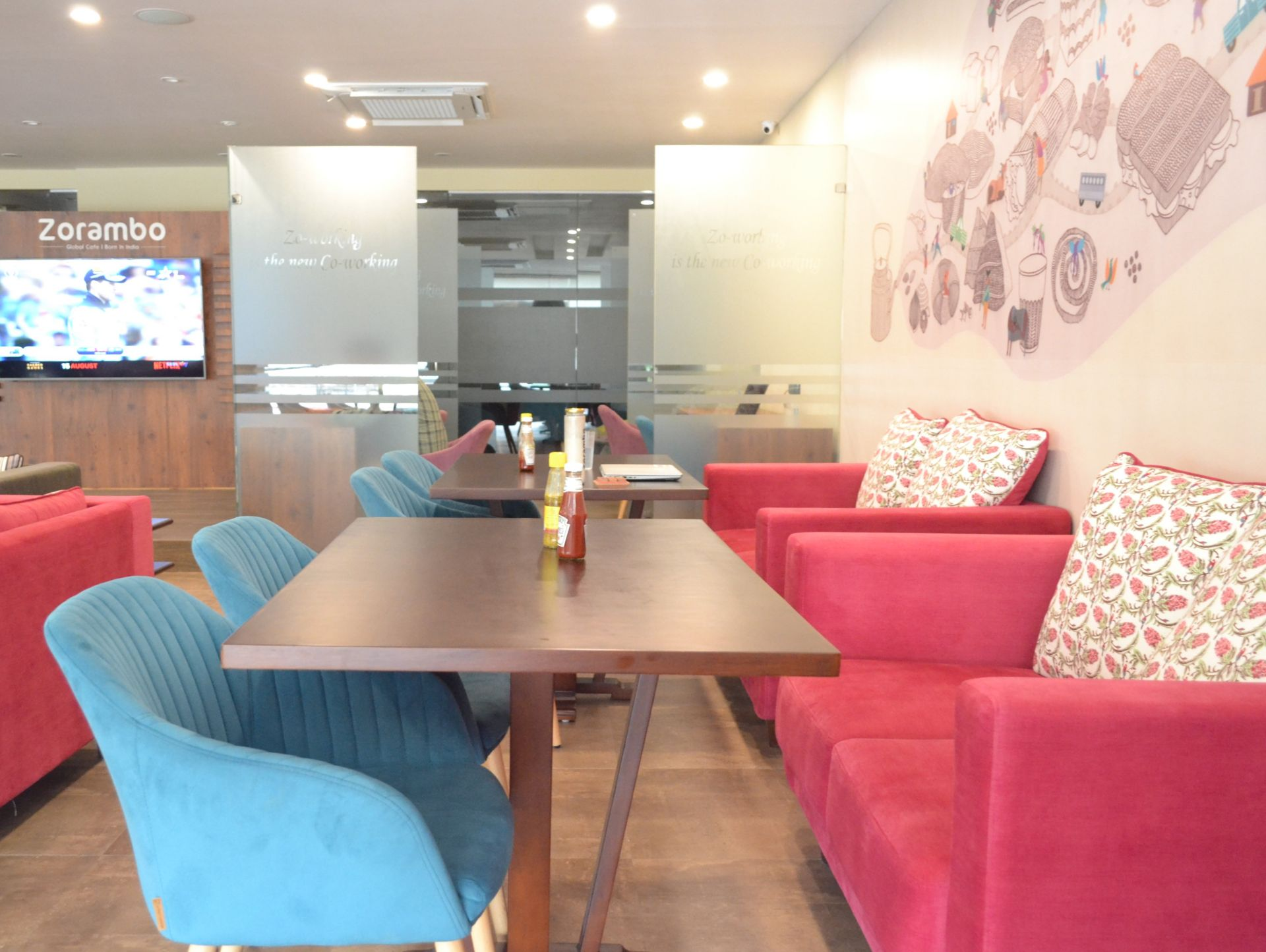 myHQ coworking at Zorambo Punjabi Bagh, New Delhi