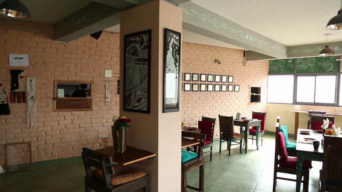 myHQ coworking cafe Hearken - Shahpur Jat, New Delhi