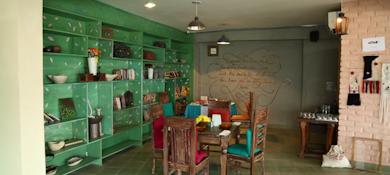 myHQ coworking cafe Hearken - Shahpur Jat