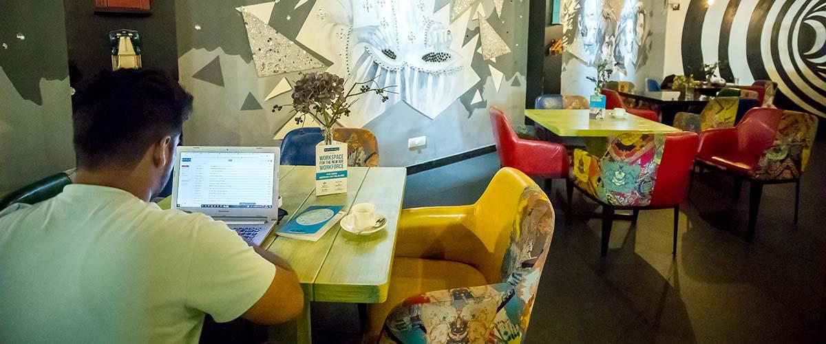 myHQ Coworking Cafe - World Art Dining Punjabi Bagh, New Delhi