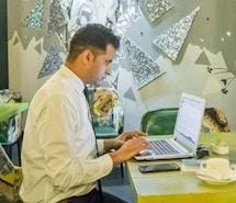 myHQ Coworking Cafe - World Art Dining Punjabi Bagh profile image